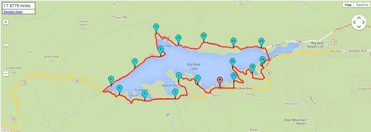 Sprint Ride Map
